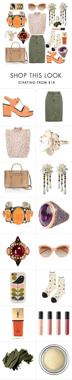 """""""Sort of boho"""" by zamills ❤ liked on Polyvore featuring Cotélac, M&Co, TOUS, Rebecca Minkoff, Harpo, Erickson Beamon, Linda Farrow, Orla Kiely, Hansel from Basel and Yves Saint Laurent"""