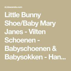 Little Bunny Shoe/Baby Mary Janes - Vilten Schoenen - Babyschoenen & Babysokken - Handmade with love in Rimsting, Duitsland by Loferlmacherei | 11-15 maanden, 8-10 maanden, 5-7 maanden | Kinderen | gevilt, gebreid | Wol | met motief, effen | Individualiseerbaar |