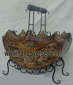 Rana Overseas is the leading manufacturer, supplier and exporter of Wooden Magazine racks. We have various designs and Wood iron combinationa Magazine racks available in different sizes and shapes.