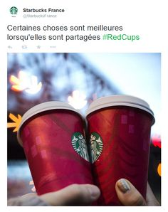 Great Facebook post from Starbucks in Paris, France / Sympathique post Facebook de Starbucks à Paris, France https://twitter.com/StarbucksFrance/status/538618423463260161