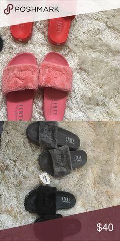 Fenty pumas Fenty puma sliders Puma Shoes Slippers