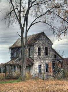 Farm House In St. Genevieve, Missouri...Missouri's Oldest Town, Since This Picture The House Has Been Torn Down