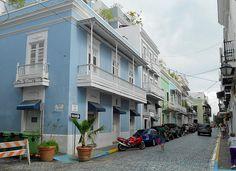 San Juan - Calle Del Cristo Original site of Reinhold