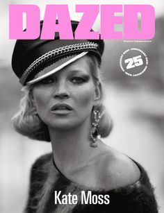 Kate Moss takes on rock and roll-inspired looks for the cover of Dazed Magazine's anniversary issue. Photographed by Ethan James Green, Kate looks tough with her dark smokey eye…View Post Kate Moss, Moss Fashion, Green Fashion, Fashion Tape, Fashion 2016, White Fashion, Dazed Magazine, Queen Kate, Dazed And Confused