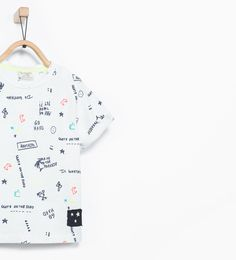 ZARA - KINDEREN - Shirt met print en patch