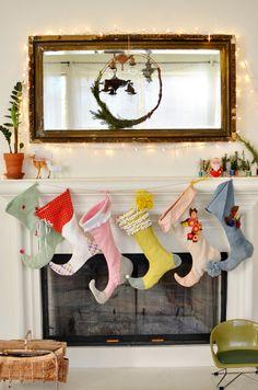 diy: elf christmas stockings