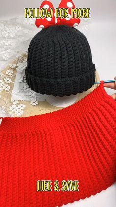 Crochet Hat For Beginners, Beginner Crochet Tutorial, Crochet Basics, Beginner Crochet Projects, Easy Crochet Hat Patterns, Crochet Headband Pattern, Beanie Pattern Free, Crochet Hats For Boys, Crochet Baby Beanie