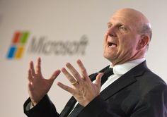 Steve Ballmer deixará a Microsoft dentro de um ano   #Ações, #Aposentadoria, #BillGates, #Microsoft, #SteveBallmer, #Windows