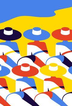Bold, minimal style Pop Art by Malika Favre Art And Illustration, Illustration Design Graphique, Art Graphique, Design Illustrations, Poster S, Arte Pop, Grafik Design, Graphic Design Inspiration, Mail Art