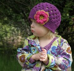 Items similar to Baby Girl Hat d65dd15856fe