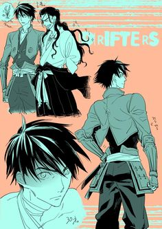 Shimazu y Oda - Drifters