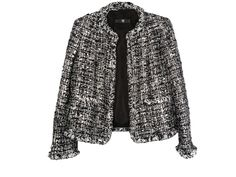 I would love to own at least one tweed Chanel jacket.  I would wear it with anything, except sweats and yoga pants.