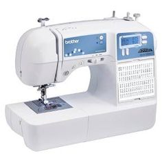 The Brother XR9500PRW has 100 sewing & 55 alphanumeric stitches designed for both sewing & quilting. <BR/> <BR/> Become a master seamstress with the XR9500PRW Project Runway Limited Edition sewing machine from Brother International. With 100 built-in utility, decorative and heirloom stitches, it allows you to embellish just about anything. Equipped with a large backlit LED screen, it provides computerized stitch selection and a u...