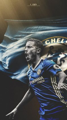 """Premier Leauge October player of the month: Eden Hazard Fc Chelsea, Chelsea Football, Football Art, Sport Football, Chelsea Wallpapers, Chelsea Fc Wallpaper, Soccer Pro, Football Players, Chelsea Champions"