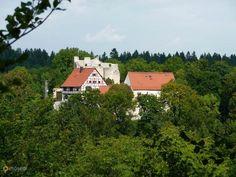 Замок Дернек – #Германия #Баден_Вюртемберг #Хайинген (#DE_BW) Средневековый замок XIV века постройки, открытый для свободного посещения.  ↳ http://ru.esosedi.org/DE/BW/1000443283/zamok_dernek/
