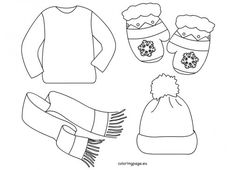 winter clothes pictures for kids