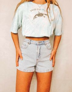 Casual School Outfits, Trendy Summer Outfits, Cute Comfy Outfits, Teen Fashion Outfits, Retro Outfits, Grunge Outfits, Outfits For Teens, Stylish Outfits, Style Grunge