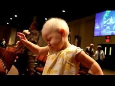 2 Year Old Catches the Holy Ghost in Church So awesome to see Children Love Jesus!!