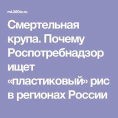 Смертельная крупа. Почему Роспотребнадзор ищет «пластиковый» рис в регионах России