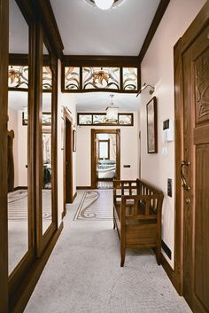 Moscow Apartment Designed in Art Nouveau Style With Floral Ornament All Around | DigsDigs