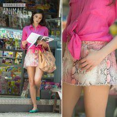 Street Style: visual colorful para o dia