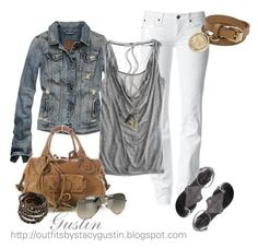 Perfect Spring/Summer Outfit with White Pants
