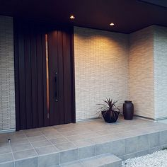Door Design, House Design, Main Door, Interior Decorating, Interior Design, My Room, Future House, Contemporary Design, Facade