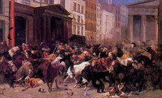 The Bulls and Bears in the Market 1824   William Holbrook Beard   Whitney Museum of Art, NY, NY