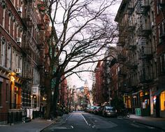 Empty streets of West Village