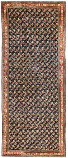Bidjar gallery rug, 19th C (3rd Q)
