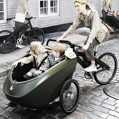 TrioBike.... is both the safest and the most tested cargo bike on the market, as well as one of the lightest