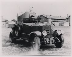 A Rolls Royce armoured car used by Irish Free State troops during the Civil War in Ireland. 1922