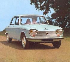 The car my father drove in the early days; 1970 Peugeot 204
