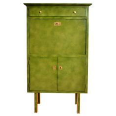 Lacquered Secretaire By Jules Leleu