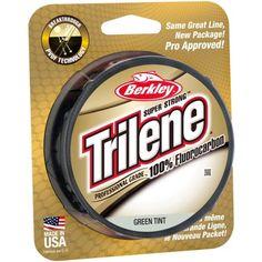Berkley Trilene Fluorocarbon Professional Grade, Green
