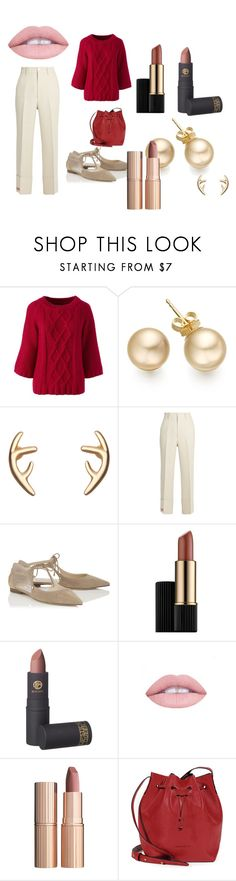 """""""made especially for my mom!! love u"""" by sjan4070 on Polyvore featuring Lands' End, Gucci, Jimmy Choo, Estée Lauder, Lipstick Queen and Charlotte Tilbury"""