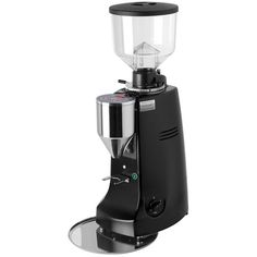 For residential and commercial use, Mazzer Robur has created an electronic espresso grinder to provide finely ground coffee for the perfect espresso. Get your coffee grinder from Mazzer in black today! Espresso Shot, Espresso Maker, Espresso Coffee, Best Coffee, Coffee Cup, Italian Espresso, Barista, Coffee Machine, Coffee Maker