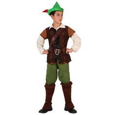 D guisement robin des bois gar on de luxe carnaval f tes - Deguisement enfant robin des bois ...
