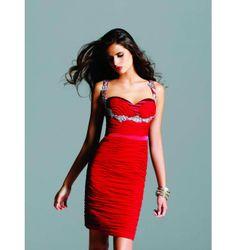 $297.00 Faviana Short Dress at http://viktoriasdresses.com/ Through John's Tailors