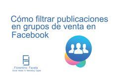 Cómo filtrar publicaciones en grupos de venta en Facebook