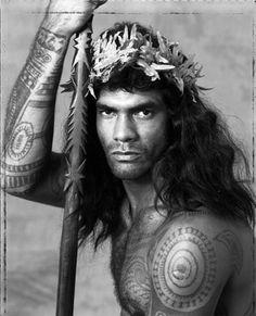 Gian Paolo Barbieri, Tahiti Tattoos, 1994