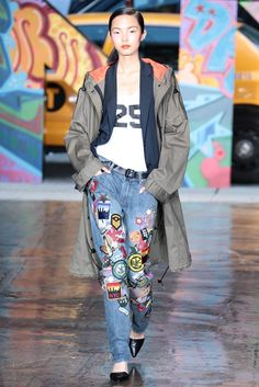 DKNY RTW Spring 2014 #Jeans