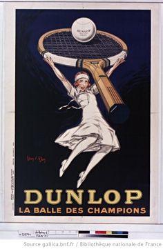 Dunlop la balle des champions : [affiche] / [Jean d'Ylen] - 1