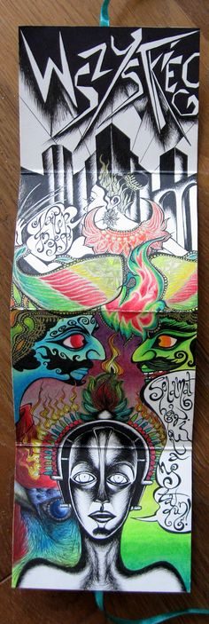 Birthday card - leporello #3 #art #illustration #birthday_card #leporello