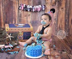 Pirate Cake Smash