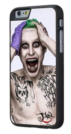 Fandom Friday: #SuicideSquad Collectibles You Can't Say No To - The Joker Jared Leto iPhone Case