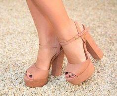 Zapatos, moda, mujer