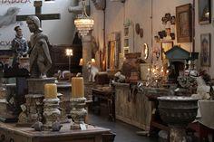 More antiques at La Fabrica La Aurora Design Center