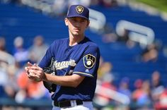27. MILWAUKEE BREWERS   -    Combined projected WAR: 8.0  -Junior Guerra (182 IP, 2.2 WAR)  -Matt Garza (166, 1.5)  -Zach Davies (158, 2.4)  -Chase Anderson (132, 1.0)  -Wily Peralta (102, 0.9)  MORE...      -  RANKING ALL 30 MLB STARTING ROTATIONS FOR THE 2017 SEASON  -  March 25, 2017