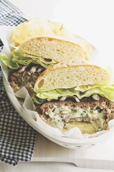 Gorgonzola-Chive Butter recipe—try it on grilled steak or stuffed in burgers!